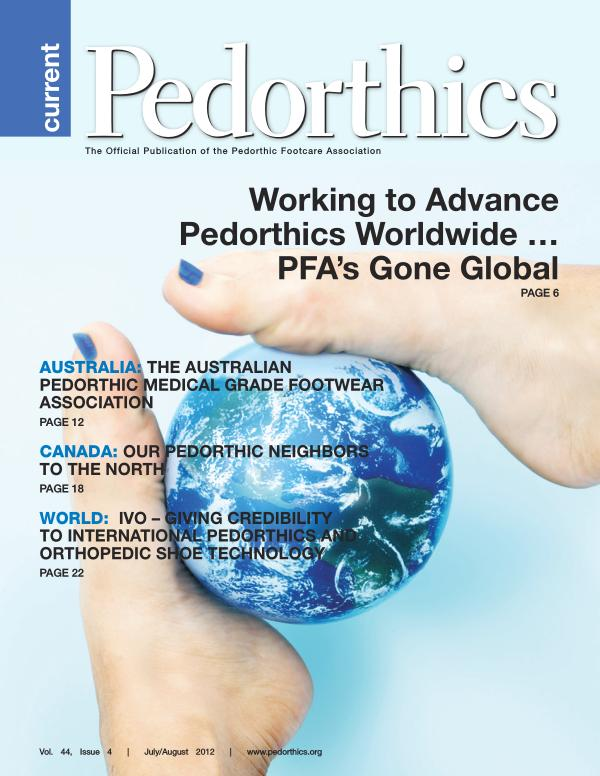 Curent Pedorthics | July-August 2012