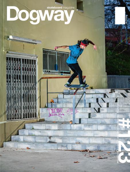 Dogway skate magazine 123
