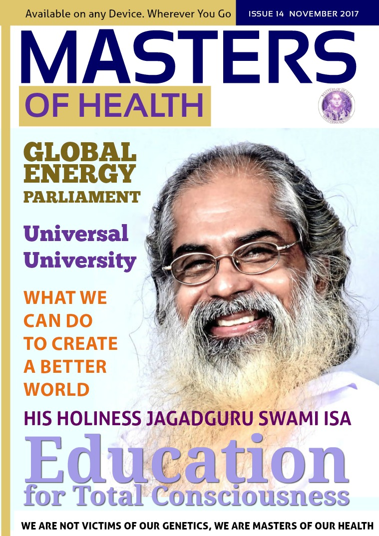 Masters of Health Magazine November 2017