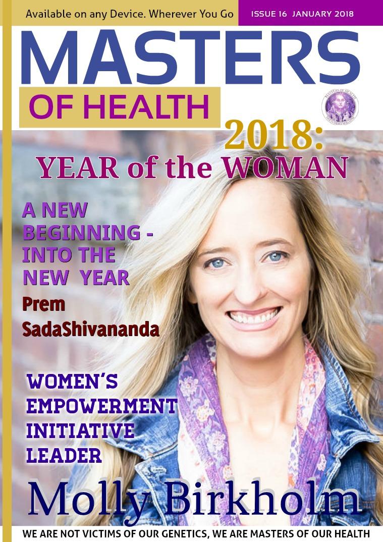 Masters of Health Magazine January 2018