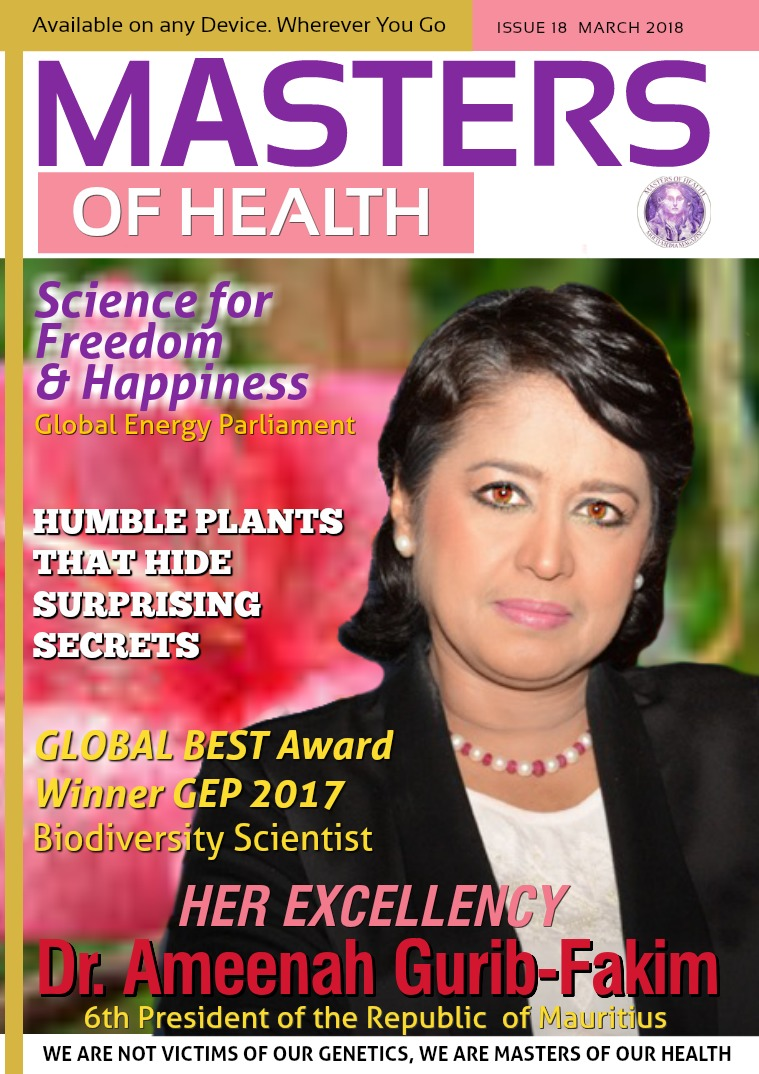 Masters of Health Magazine March 2018