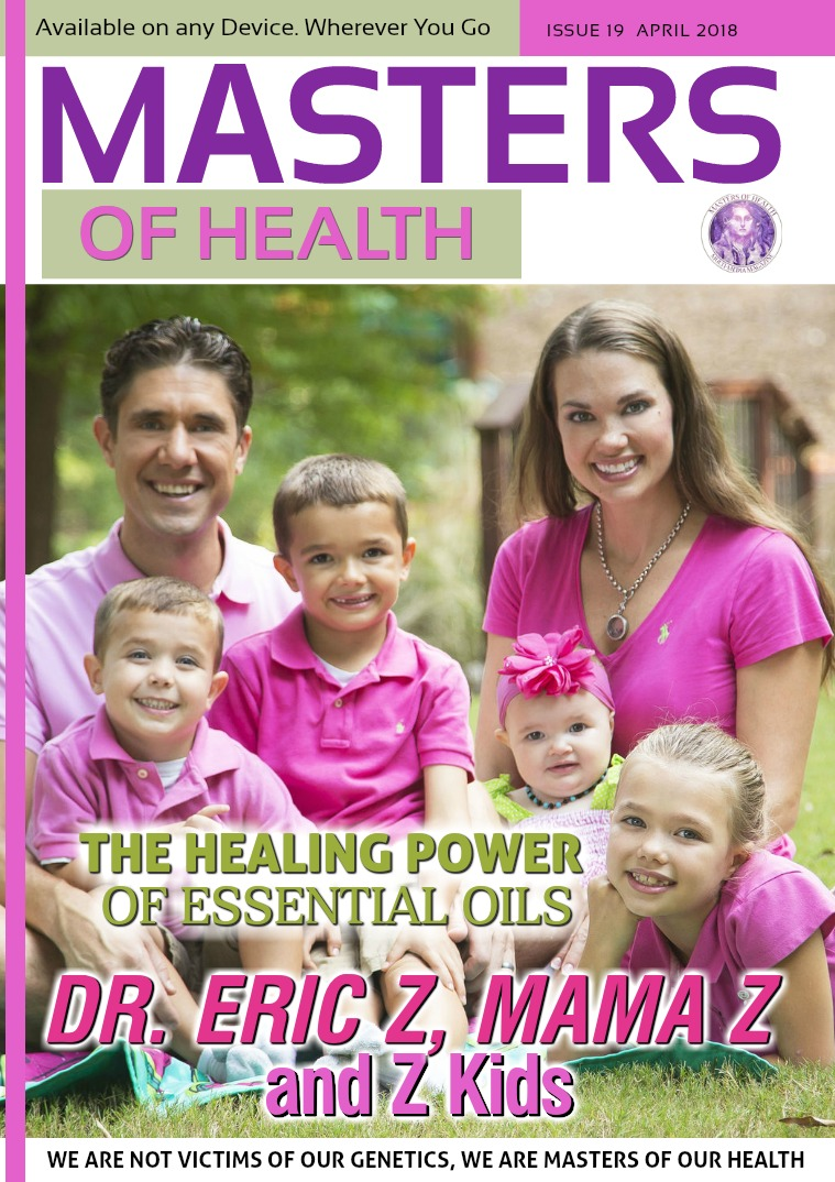 Masters of Health Magazine April 2018