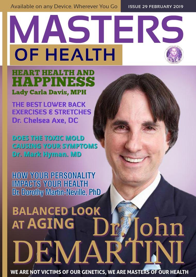 Masters of Health Magazine February 2019