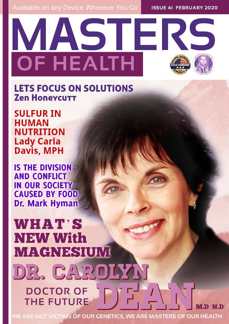 Masters of Health Magazine February 2020