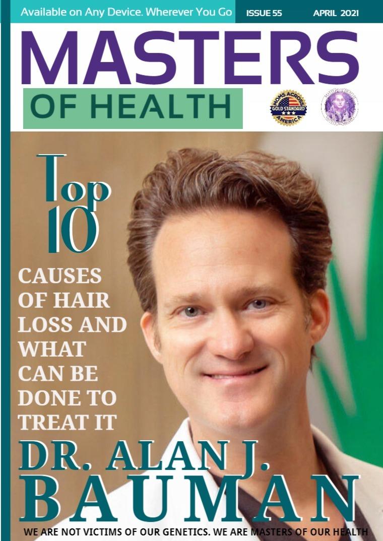 Masters of Health Magazine April 2021