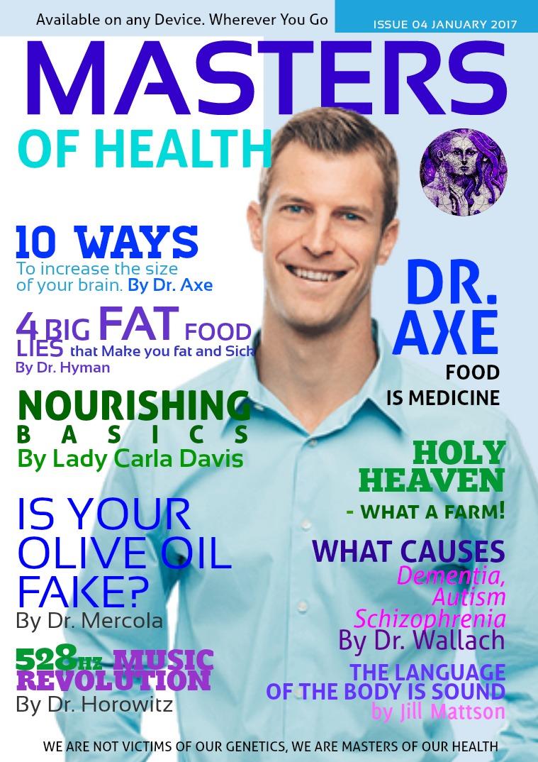 Masters of Health Magazine January 2017