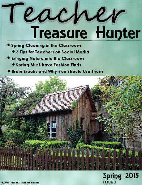 Teacher Treasure Hunter Spring 2015