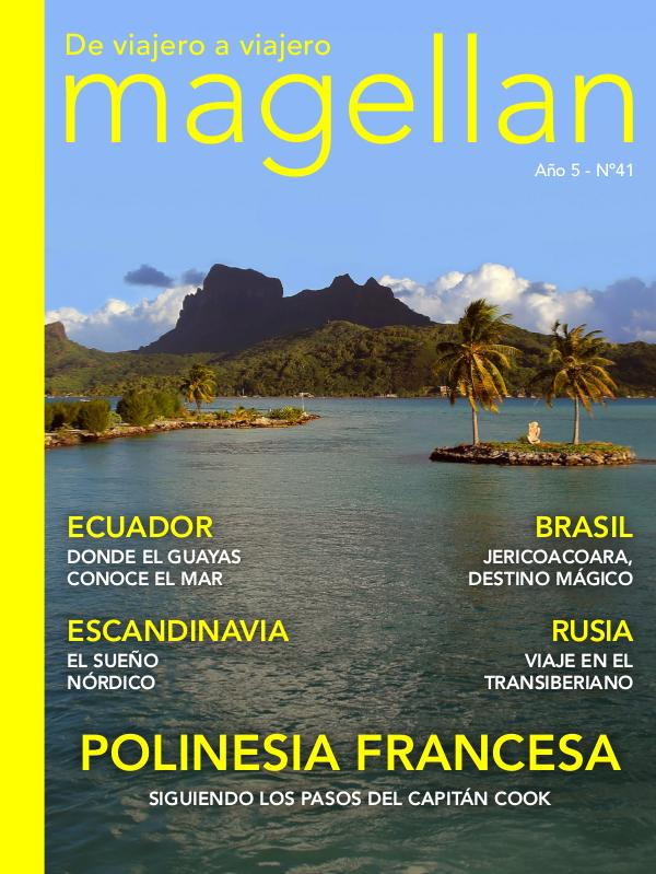 Revista de viajes Magellan Magellan Nº41