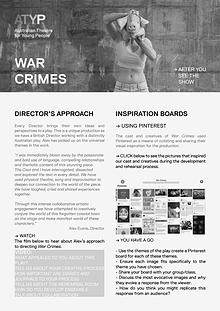 WAR CRIMES: ATYP