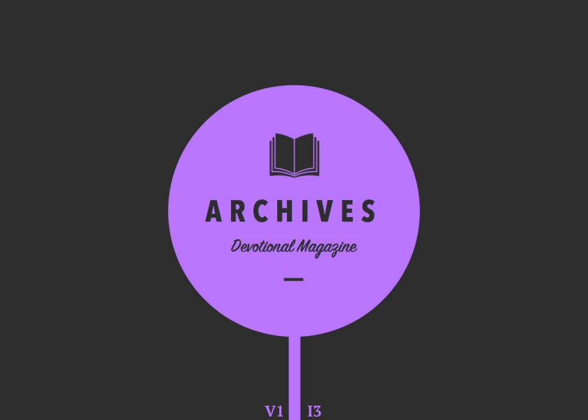 The Archives Devotional Magazine August 2015