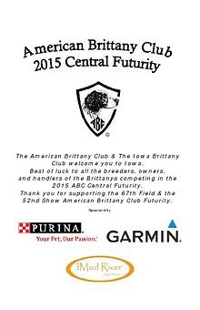 2015 American Brittany Club Central Futurity