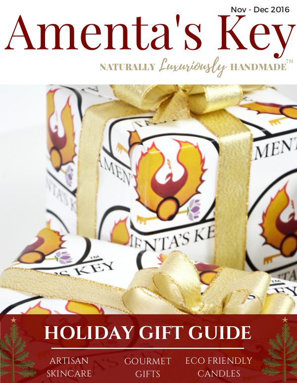 Amenta's Key 2016 Holiday Gift Guide Nov-Dec