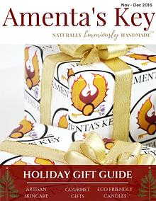 Amenta's Key 2016 Holiday Gift Guide