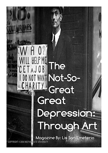 Exploration of The Great DepressionThrough Art