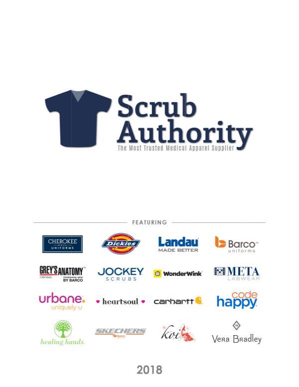 Scrub Authority Scrub Authority 2018 Catalog
