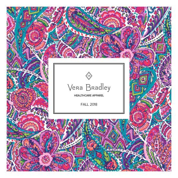 Scrub Authority Vera Bradley Fall 2018 Catalog