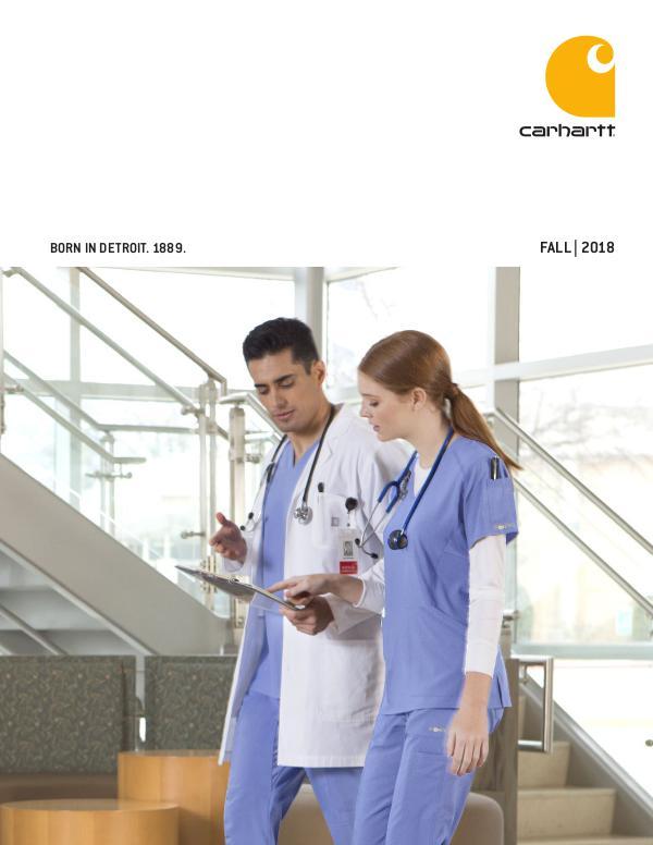 Scrub Authority Carhartt Fall 2018 Catalog