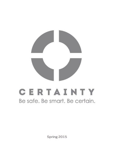 Scrub Authority Certainty Spring 2015 Catalog