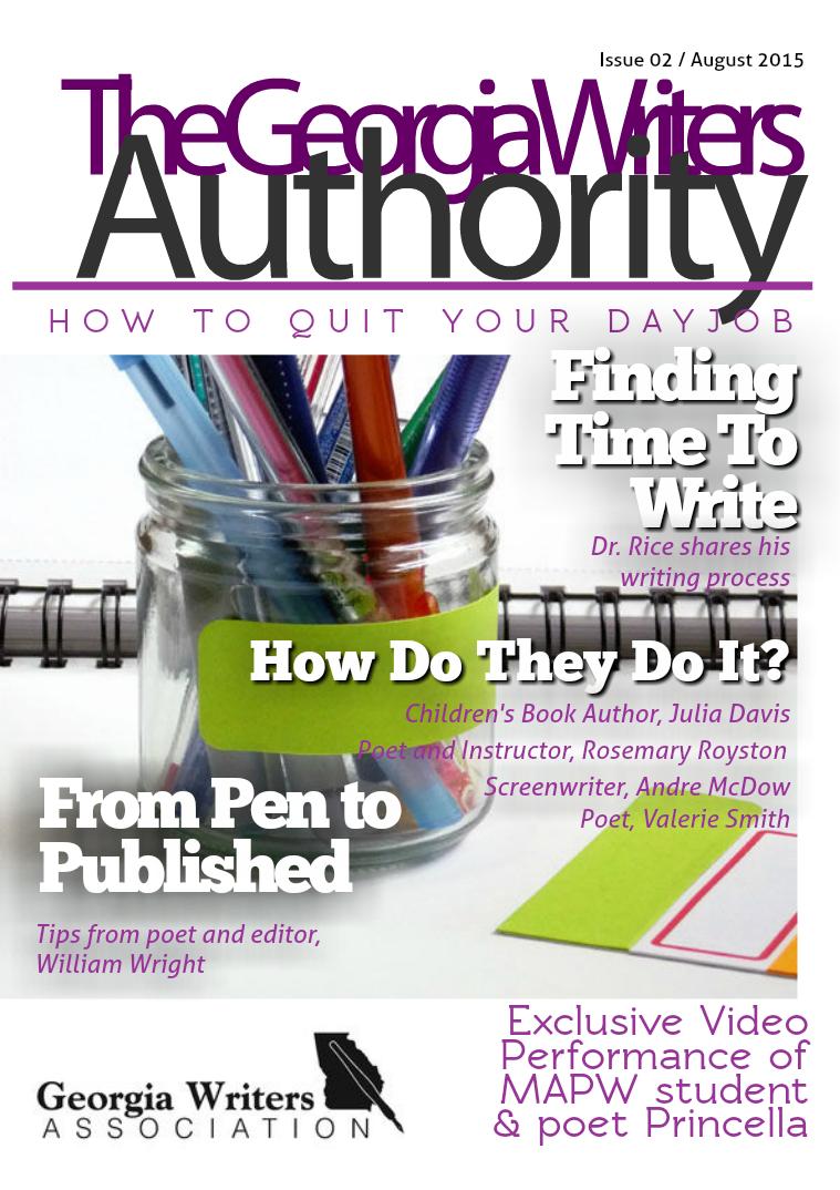 Georgia Writers Authority - digital magazine for writers