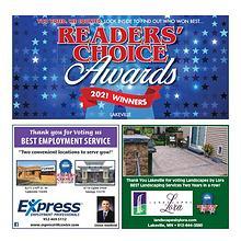 Lakeville Reader's Choice Awards 2021