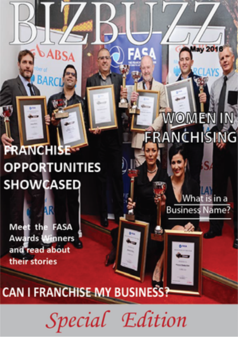 BizBuzz - the magazine for woman in business May 2016