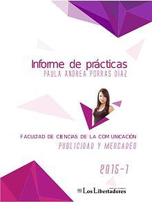 Informe de prácticas PAULA ANDREA PORRAS DÍAZ