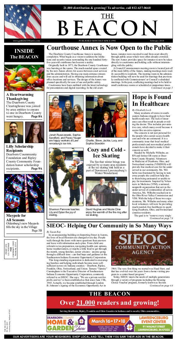 the BEACON Newspaper, Indiana beacon 2-18 web