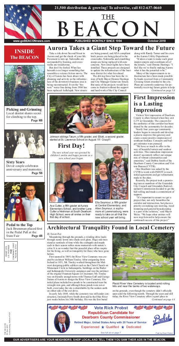 the BEACON Newspaper, Indiana 20181001_beacon