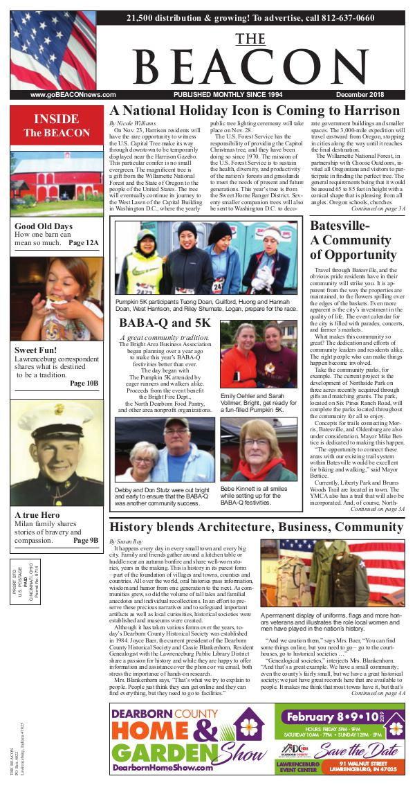 the BEACON Newspaper, Indiana beacon12-18