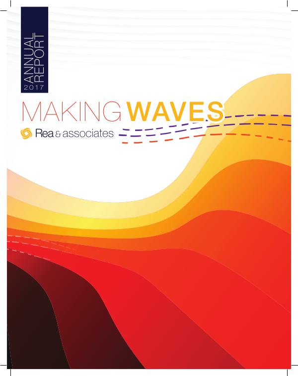 Making Waves: 2017 Annual Report