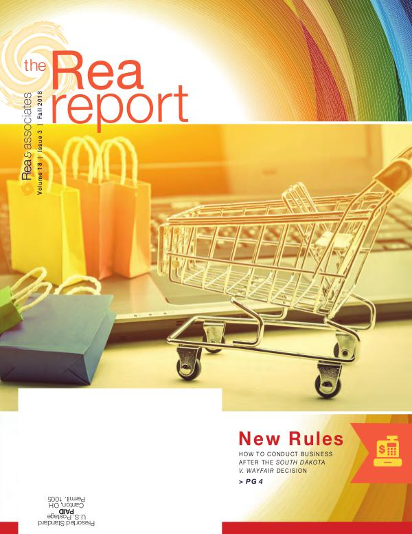 The Rea Report Fall 2018