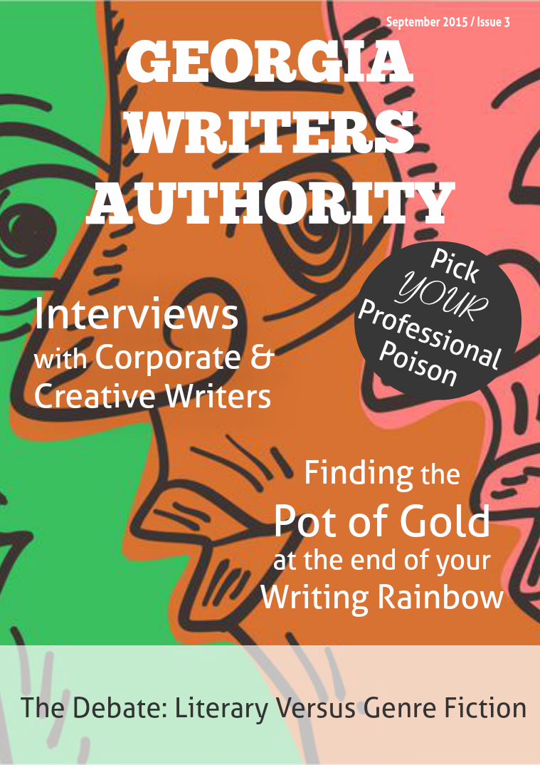 Georgia Writers Authority Digital Magazine for Writers – September 2015