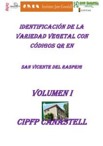 IDENTIFICACIÓN DE LA VARIEDAD VEGETAL CON CÓDIGOS QR 2013