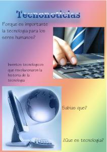 Tecnonoticias 1