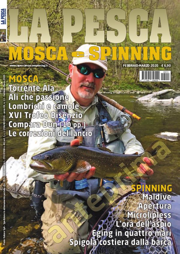 La Pesca Mosca e Spinning February-March 2020