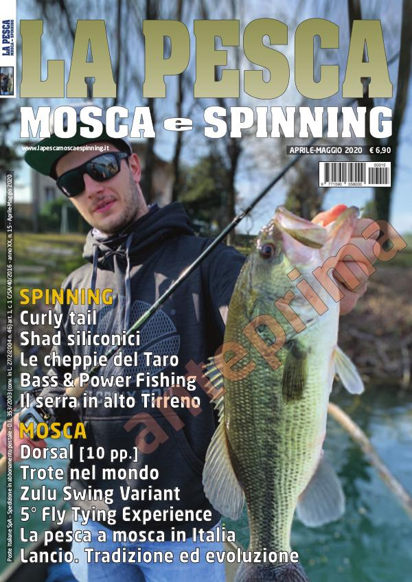 La Pesca Mosca e Spinning April-May 2020