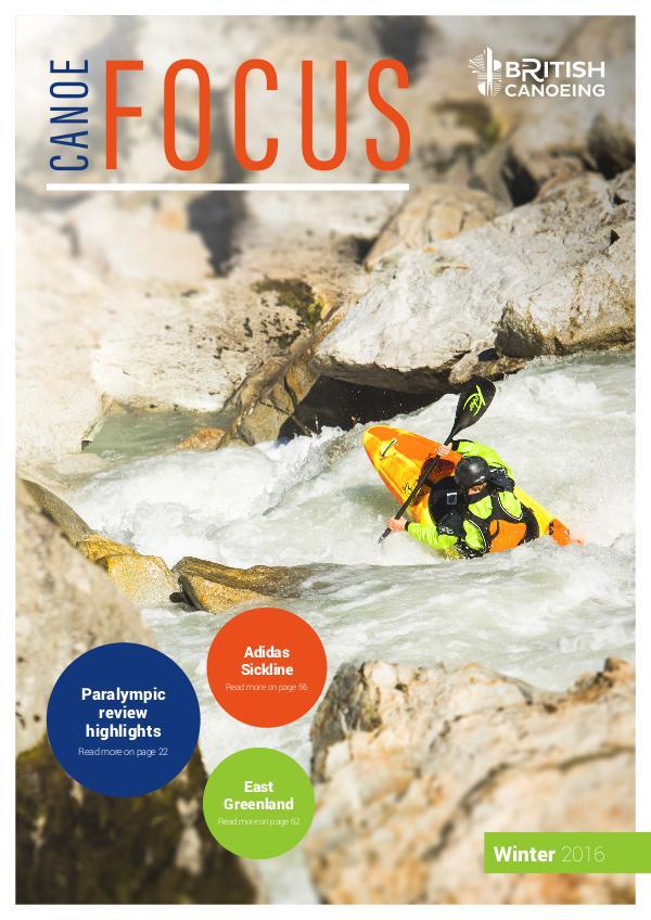 Canoe Focus Winter 2016