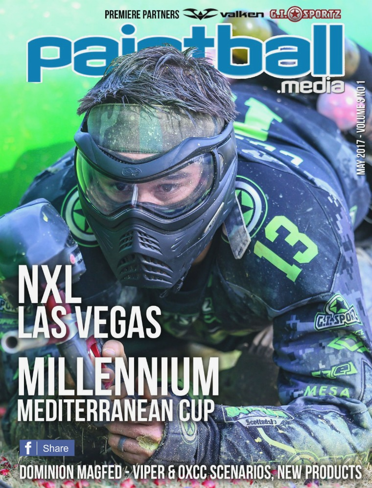 Paintball Magazine May 2017 Paintball.Media