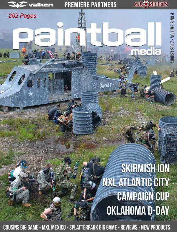 Paintball Magazine August 2017 Paintball.Media Issue