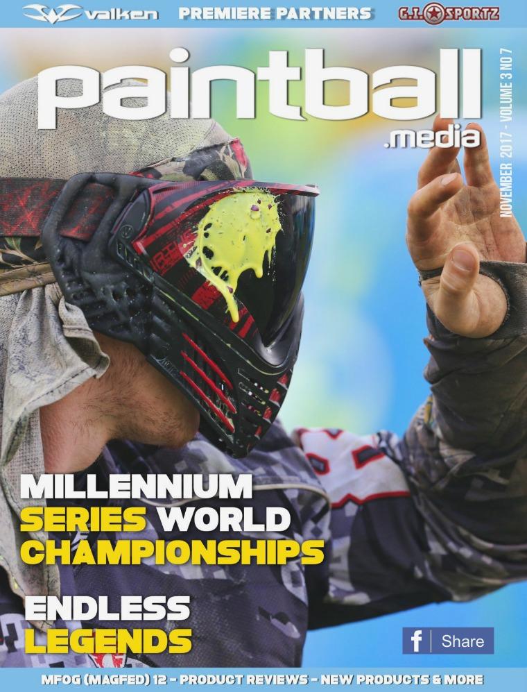 Paintball Magazine November 2017