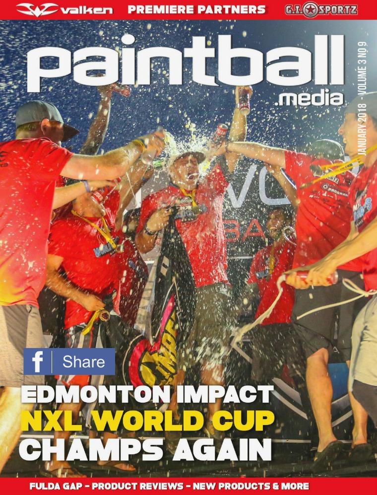Paintball Magazine Paintball.Media January 2018