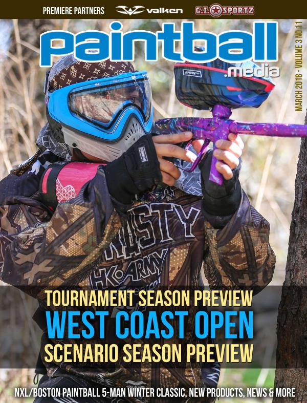 Paintball Magazine March 2018 Issue