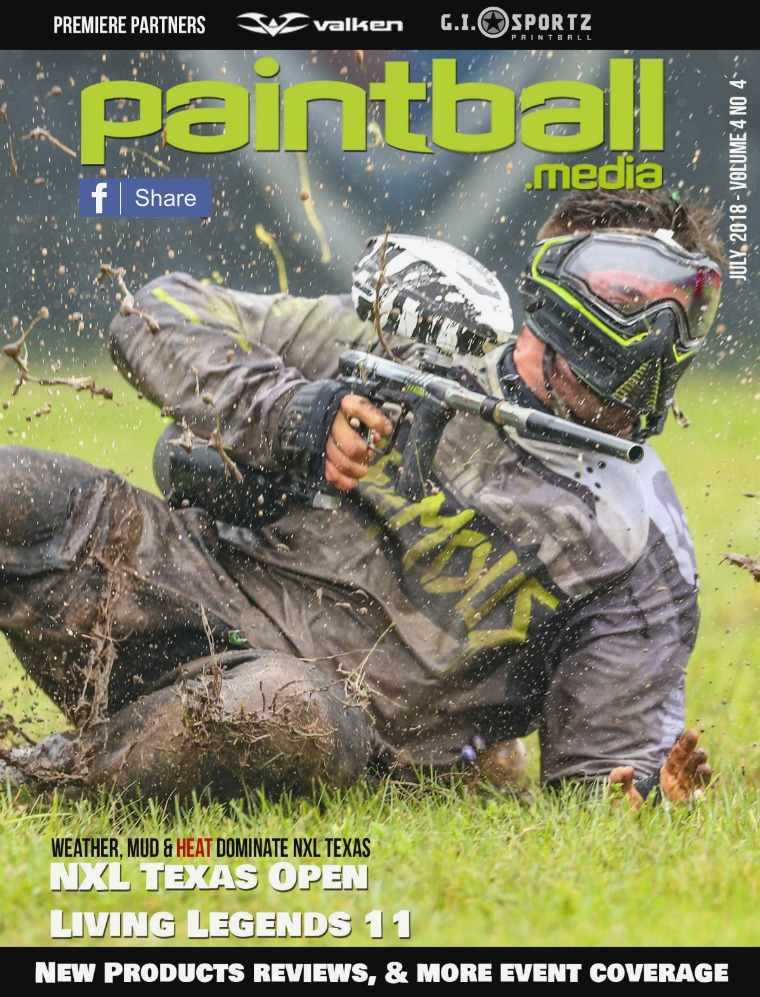 Paintball Magazine July 2018 Issue