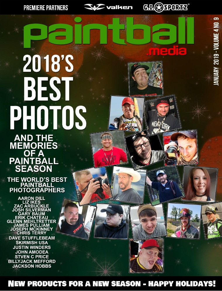Paintball Magazine January 2019 Issue