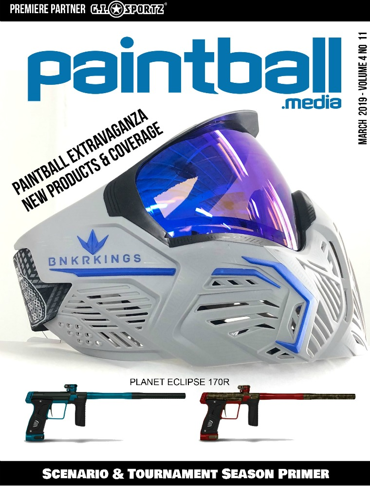 Paintball Magazine Paintball Magazine March 2019 Issue