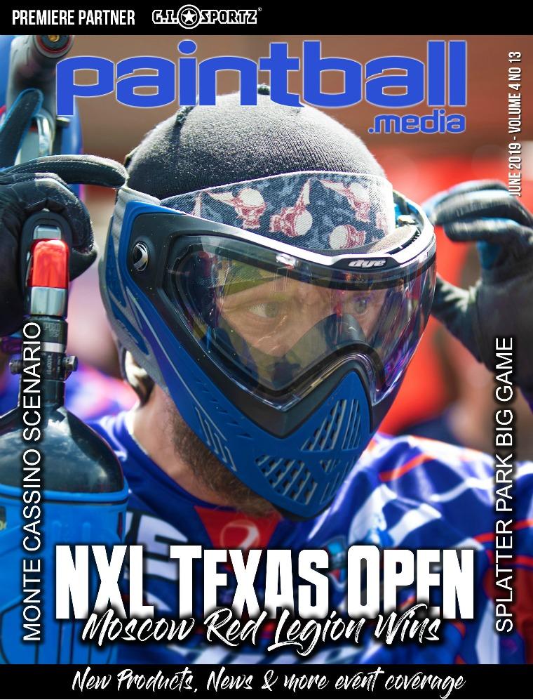 Paintball Magazine Paintball.Media Magazine, June 2019