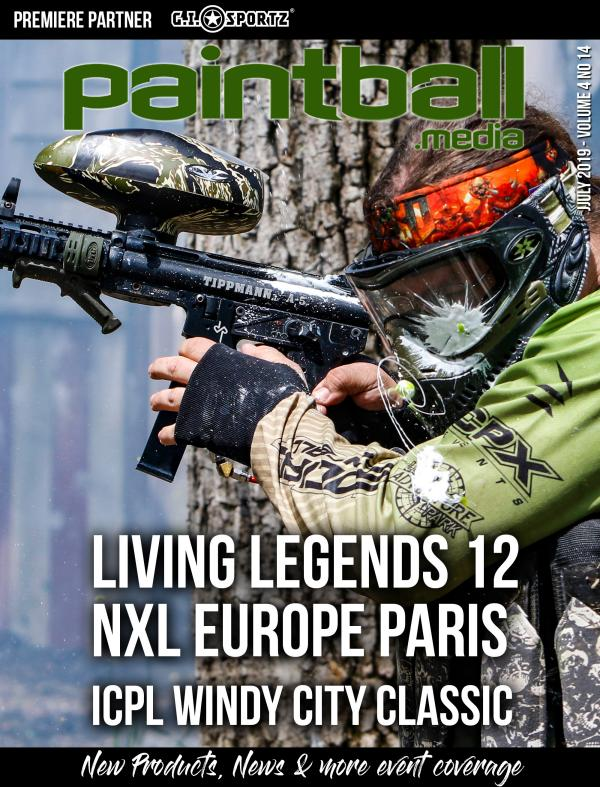 Paintball Magazine Paintball Media Magazine July 2019