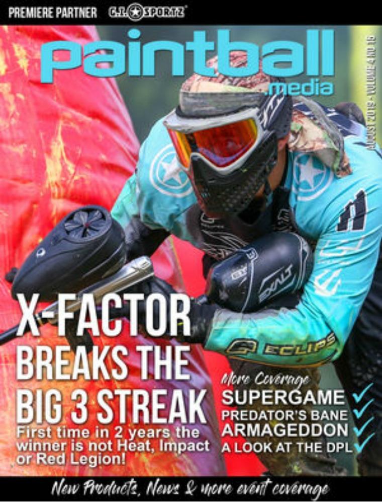 Paintball Magazine Paintball.Media Magazine August 2019