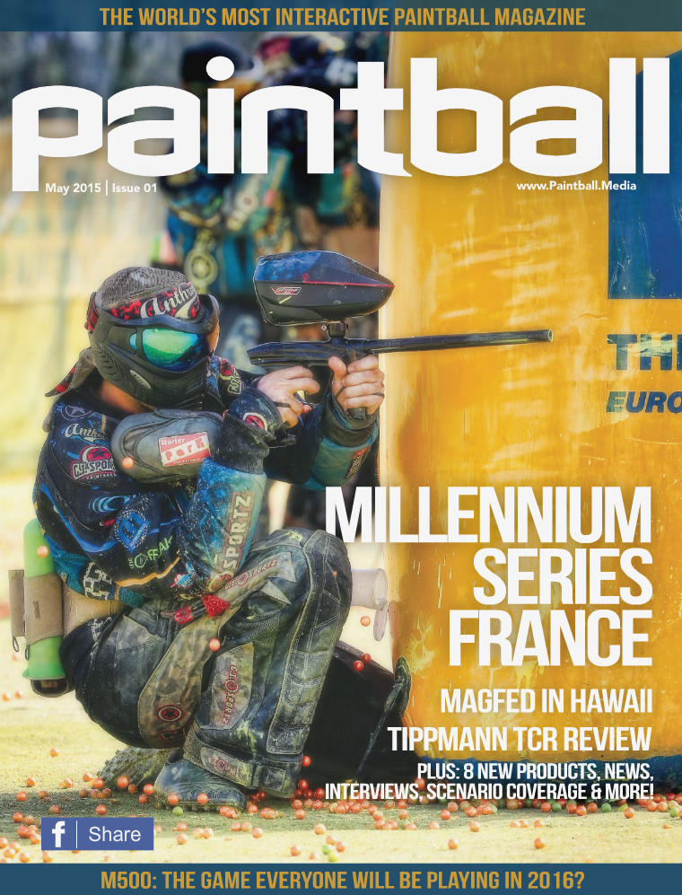 Paintball Magazine Premier Issue, May 2015