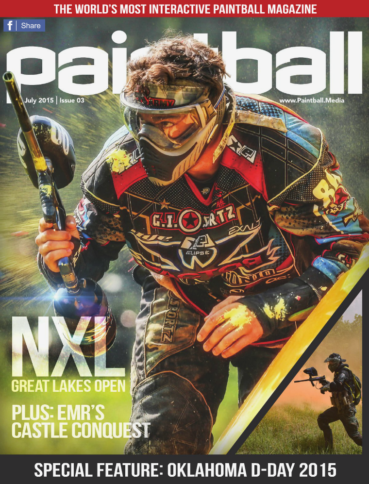 Paintball Magazine July 2015 Issue